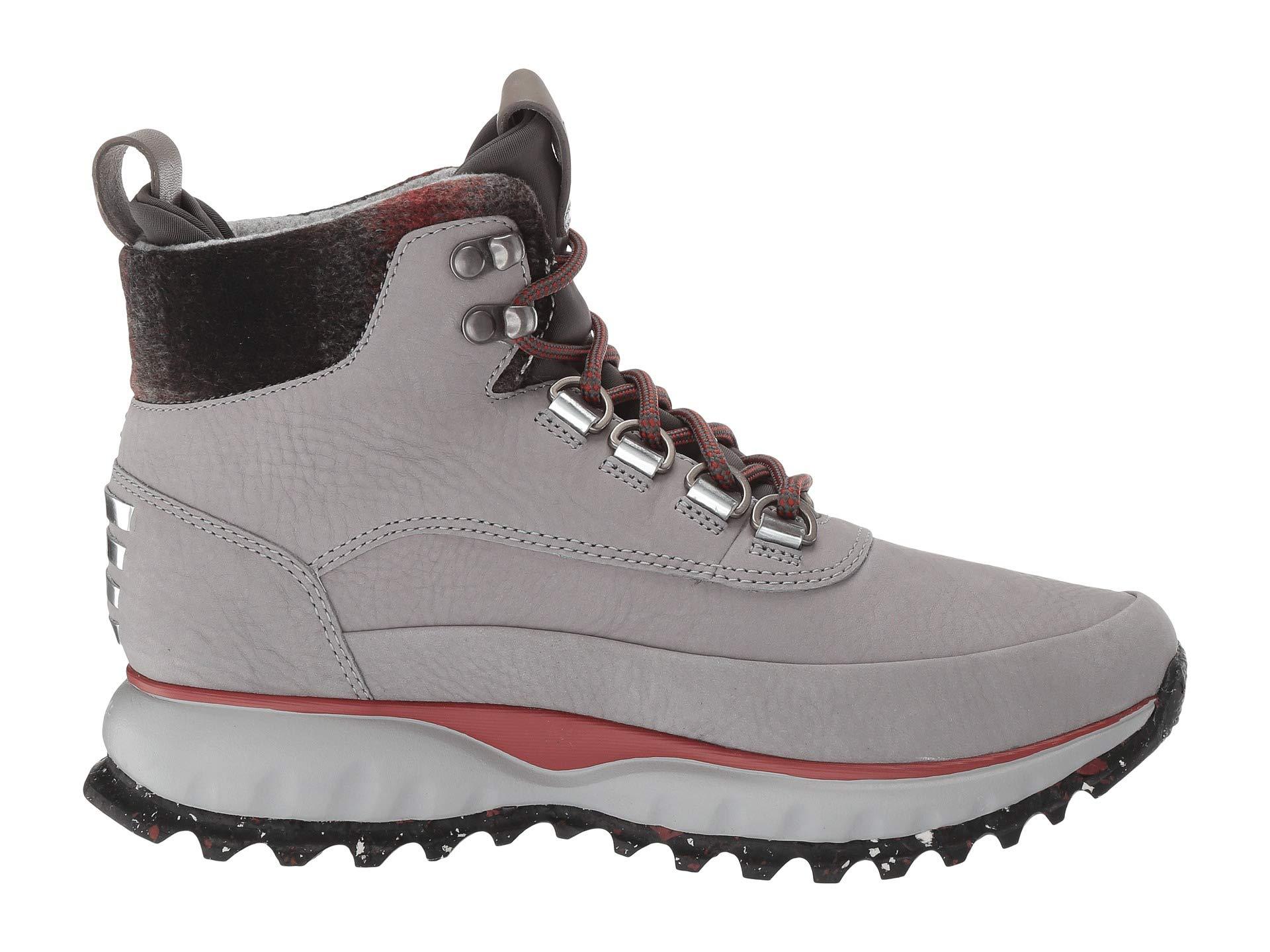 Ochre plaid Ironstone Haan All Wool magnet Nubuck Zerogrand Cole Explore terrain Neoprene Hiker Waterproof Waterproof red 0wZvqq