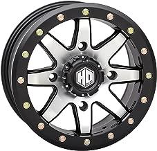 STI HD9 Beadlock 14x7 ATV/UTV Wheel - Matte Black/Machined (4/137) 6+1 []