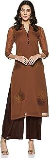 Soch Women's georgette straight Salwar Suit Set