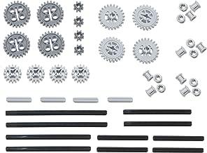 LEGO 46pc Technic gear & axle SET #4 Includes RARE CROWN GEARS (Mindstorms, EV3, NXT Robots!)