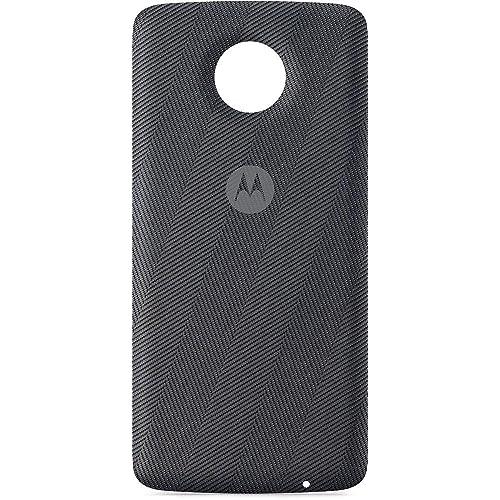 MOTCB Wireless Charger for Moto Z - Grey Herringbone