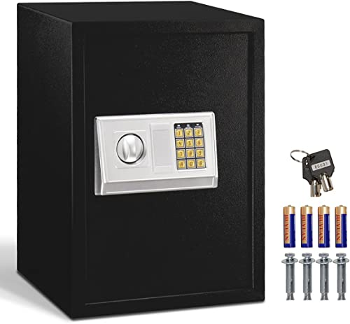 lowest Giantex Large Digital Electronic Safe Box Keypad Lock Security Home Office Hotel Gun 2021 outlet sale Capacity 1.8 Cubic Feet online