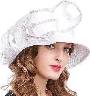 Womens Tea Party Church Baptism Kentucky Derby Dressy Hat