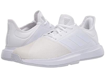 adidas GameCourt (Footwear White/Footwear White/Dash Grey) Women