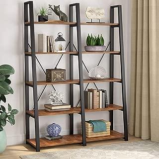 Best double ladder bookshelf Reviews