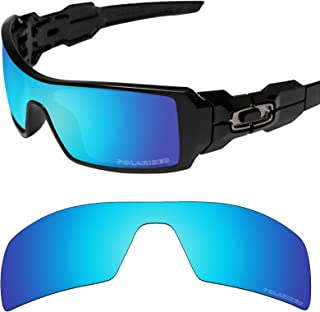 Tintart Performance Lenses Compatible with Oakley Oil Rig Polarized Etched
