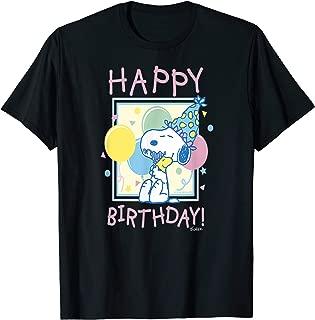 Peanuts Snoopy and Woodstock Happy Birthday