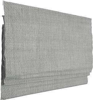 Victoria M. Ivora Klemmfix Estor Plegable, Cortina Plegable paqueto sin taladrar, 160 x 175 cm, Gris