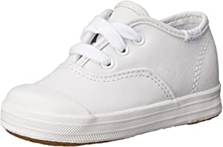 Keds girls Champion Lace Toe Cap Sneaker