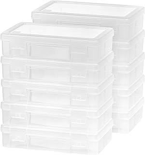 IRIS USA Medium Modular Supply Case, 10 Pack