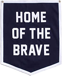 Oxford Pennant Home of The Brave Championship Banner Original