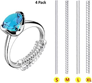 Ring Size Adjuster for Loose Rings Invisible Transparent...