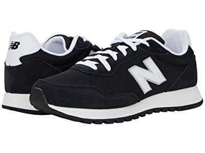 New Balance Classics ML527 (Black/White) Men