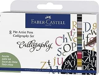 Faber-Castell 167508Tusche lápiz Pitt Artist Pen Calligraphy Set