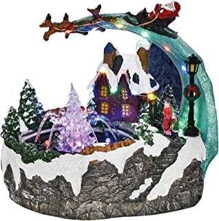 Best christmas village water fountain Reviews