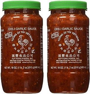 Huy Fong Fresh Chili Garlic Sauce 18 oz (Pack of 2)