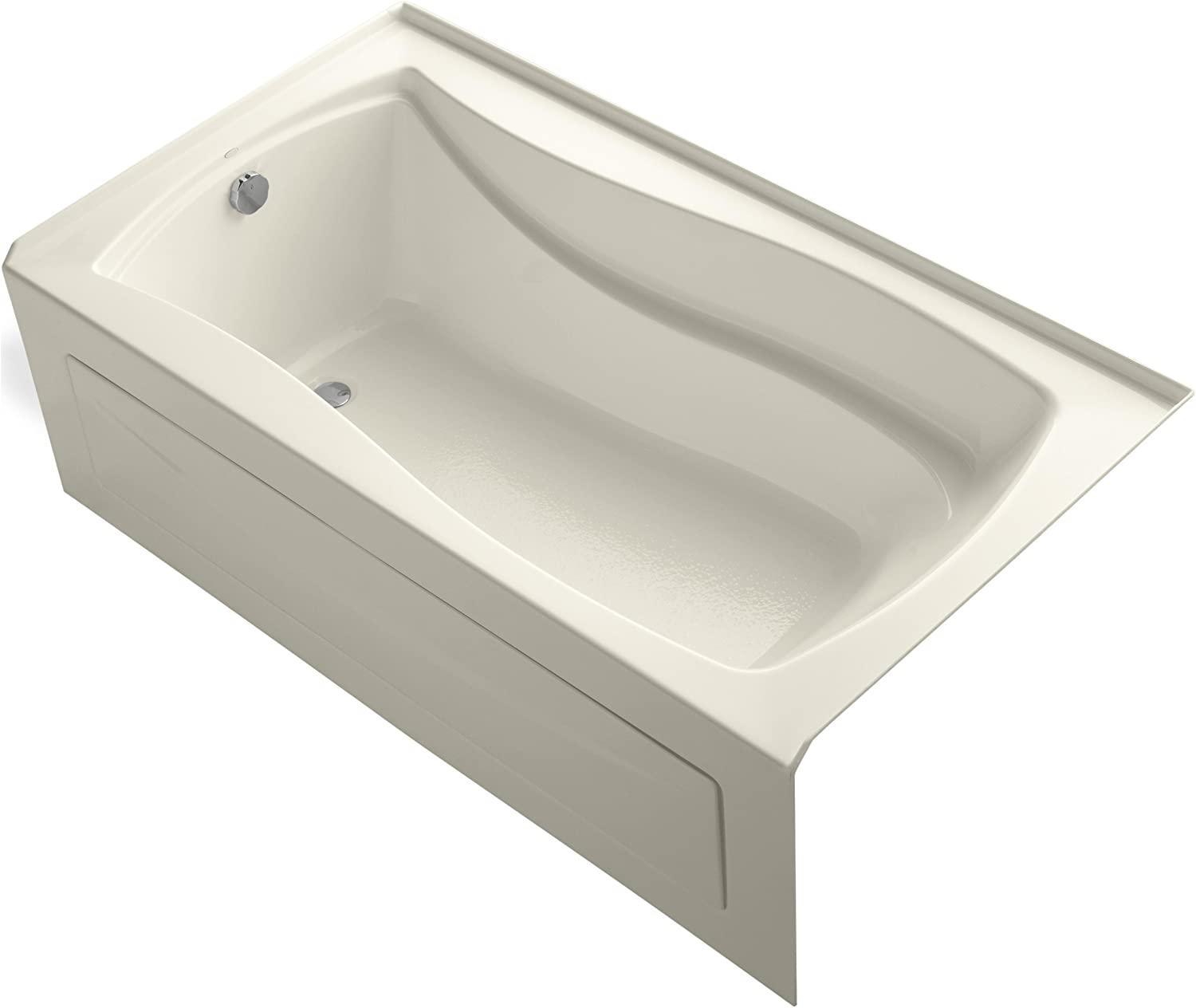 Kohler K 1229 La 0 Mariposa 5 5 Foot Bath White Soaking Tubs Amazon Com