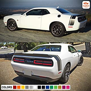 Gold Fish Decals Decal Sticker Vinyl Body Racing Stripe Kit Compatible with Dodge Challenger R/T SXT SRT-8
