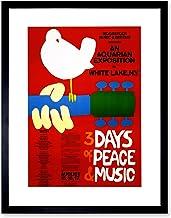 WOODSTOCK ART POSTER 24x36 MUSIC FESTIVAL CONCERT 241278