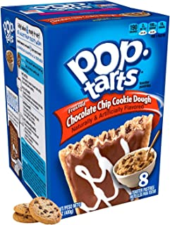 comprar comparacion Kellogg's Frosted Chocolate Chip Cookie Dough Pop Tarts 400g