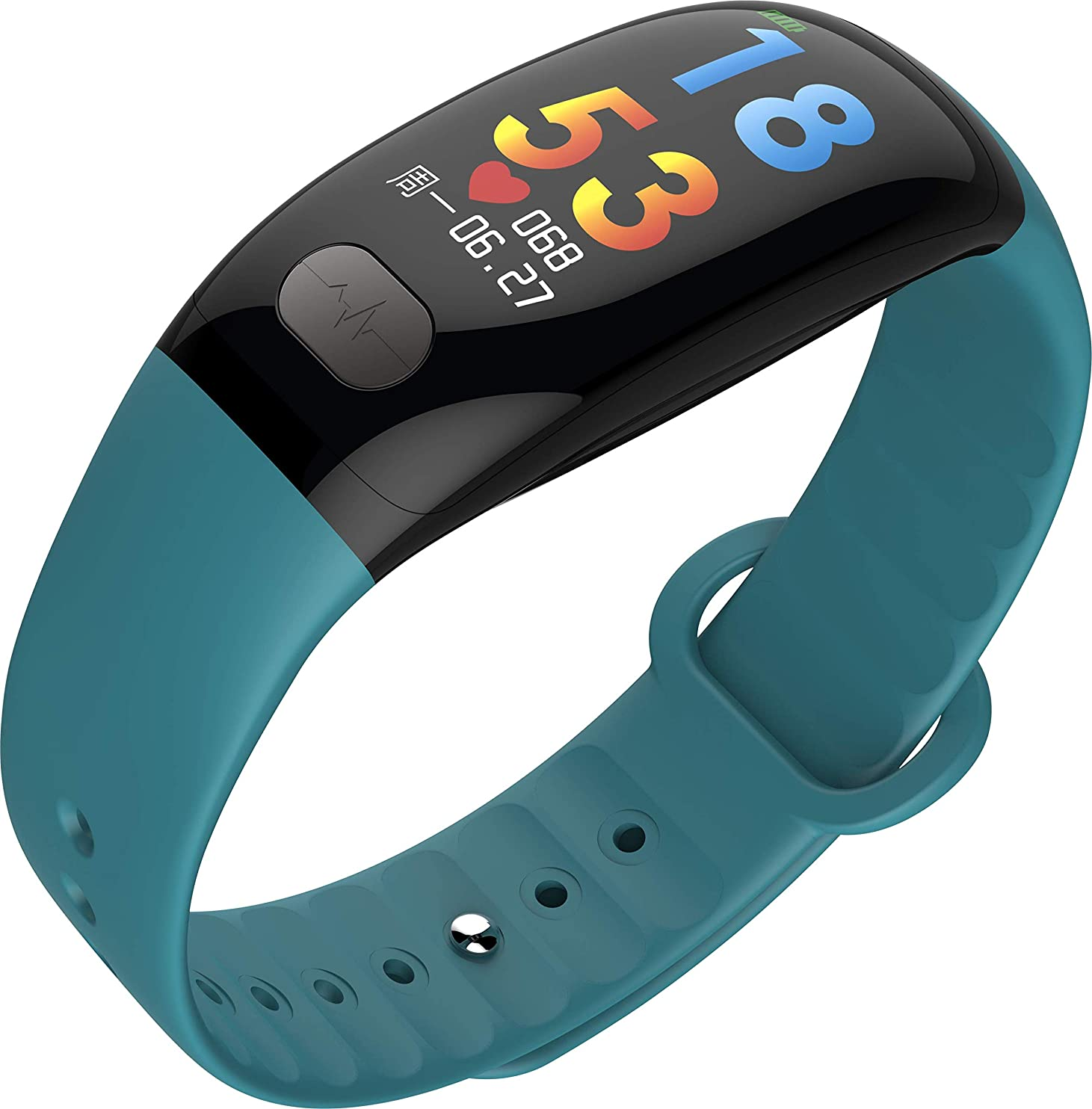 不信条件付きスキッパーWINAWORLD B51绿スマートウォッチ2019血圧心拍数心電図24時間モニタリングAI人工知能診断HRV健康指標モニタリング報告書スマートブレスレット ECG + PPGスマートウォッチ スマートブレスレットウェアラブルハードウェア+スマートAPP +ビッグデータクラウドサービスECG血圧測定心拍数モニターカロリー計算歩数計睡眠検出IP67防水APPケア家族の友人健康レポートデータ共有通話通知facebook/IN/Skype/Twitter/WhatsApp/Viberの情報リマインダー、目覚まし時計の長い席+ドリンクのリマインダー、IOS&Androidシステムと互換性のあるアプリ