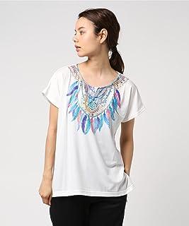 (チチカカ) アフリカンフェザー Tシャツ