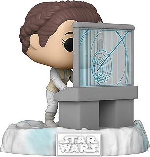 Funko Pop! Deluxe: Star Wars Battle at Echo Base Series - Princess Leia, Amazon Exclusive, Figura 5 de 6 (45901)
