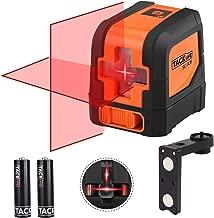 Livella laser, Tacklife SC-L01 Laser a Croce Autolivellante Misuratore a Infrarossi Orizzontale e Verticale, Livello Laser Autolivellante 15M, 360 Gradi Rotante, IP54