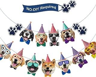 Dog Birthday Banner Birthday Garland Dog Theme Party Bunting Decoration Baby Shower Party Supplies (Dog)