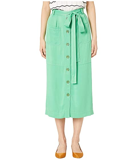 See by Chloe Tie Front A-Line Skirt