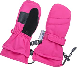 Sponsored Ad - Children Toddlers and Baby Mittens - Xtra Long Gauntlet Winter Waterproof Gloves