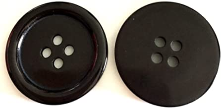 Bastel Express 10/Botones Blanco de Resina DIY 22/mm Bot/ón