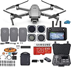 DJI Mavic 2 PRO Drone Quadcopter Fly More Combo with Hasselblad Camera, with Smart Controller, 3 Batteries, Case, ND, CPL ...