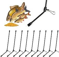 1.5cm Wie Bild Show KSTN 100 St/ück Karbonstahl Lager Fischen Nadeln Leicht Schnell Anschluss Ger/ät