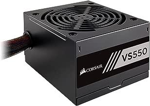 CORSAIR VS Series, VS550, 550 Watt, 80+ White Certified, Non-Modular Power Supply (Renewed)