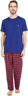 Men's Plaid Fleece Pant Pajama Set