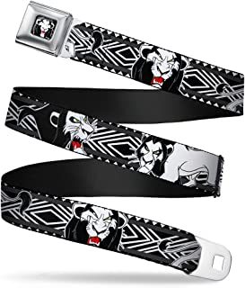 1.0 Wide Buckle-Down Seatbelt Belt 20-36 Inches in Length Stars /& Stripes Ribbon Red//Blue//White