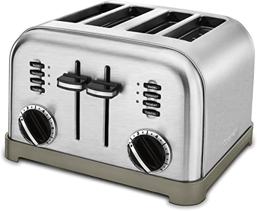2021 Cuisinart outlet online sale CPT-180P1 Metal 2021 Classic 4-Slice toaster, Brushed Stainless online