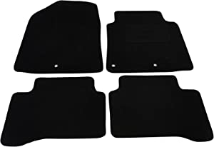 Fully Tailored Deluxe Car Mats Black