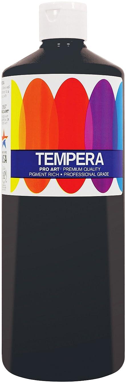 Pro Art Liquid Tempera Paint, 16-Ounce, Black