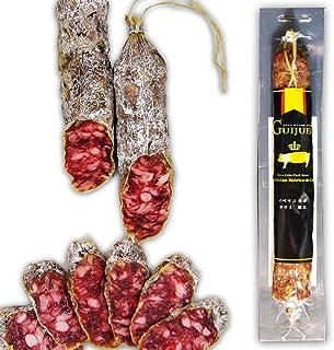 [ギフエロ(Guijuelo)] サラミ イベリコ豚 サルチチョン イベリコ セボ 白カビ 6ヶ月 長期熟成 180g