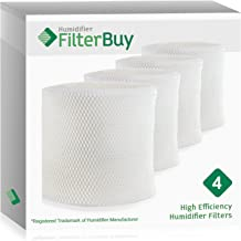 FilterBuy MAF2 Emerson MoistAIR & 15508 Sears Kenmore Humidifier Wick Replacement Filters. Designed to Replace Emerson Part # MAF2 & Kenmore Part # 15508, Noma Part #EF2. Pack of 4.