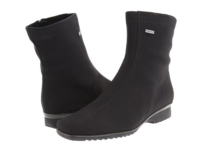 ara  Page (Black Fabric) Womens Waterproof Boots
