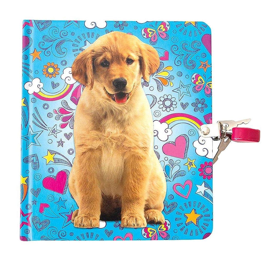 ランドマーク有名ロックプレイハウス 子犬 落書きロック キーライン ページダイアリー 子供用