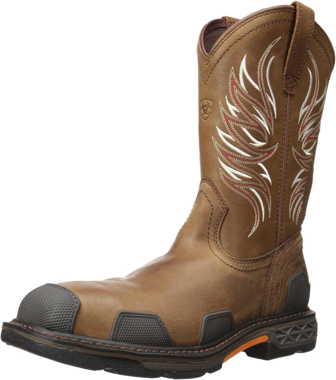 Ariat Men's Overdrive Wide Square Toe Composite Toe Work Boot