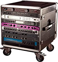 Gator Cases Lightweight ATA Molded Console Rack Case with Heavy Duty Casters; 21