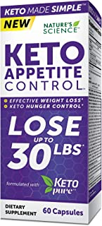 Nature's Science Keto Appetite Control, 60ct
