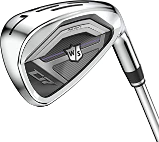 Wilson Golf D7 Set of Irons, 5-Piece Set of Irons 7, 8, 9, PW and SW for Ladies, Right-Handers for Experienced Players, Fl...