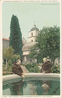 vintage santa barbara postcards