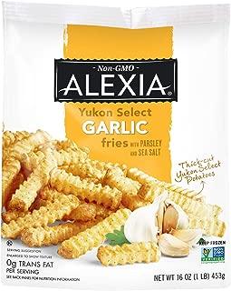 Alexia Yukon Select Garlic Fries with Parsley and Sea Salt, Non-GMO Ingredients, 16 oz (Frozen)